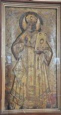 Икона Николая Чудотворца с частицей мощей